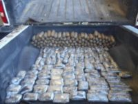 CBP officers at the Port of Nogales seized more than 260 pounds of drugs being smuggled into the U.S. (Photo: U.S. Customs and Border Protection/Nogales Sector)