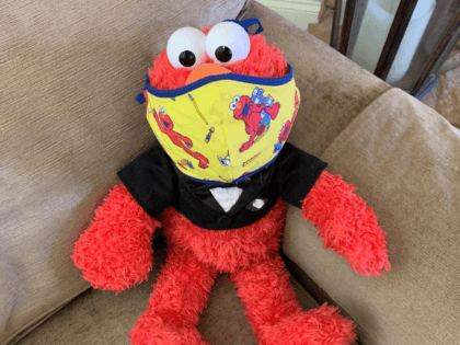 About a week later, I received a package. To my surprise, it was a note from Sarah with masks for our family, along with a very special Elmo one for my son! I was floored that she 1) actually made and sent them to us and 2) remembered my son's …