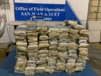 CBP Officers in San Juan, Puerto Rico, seized more than a half-ton of cocaine in June. (Photo: U.S. Customs and Border Protection)
