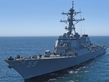 U.S. Warship Sails Through Taiwan Strait on Tiananmen Square Anniversary