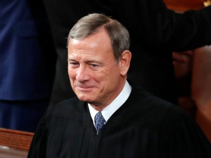 Chief Justice of the United States John Roberts and Supreme Court Associate Justice Elena Kagan arrive before President Donald Trump delivers his State of the Union address to a joint session of Congress on Capitol Hill in Washington, Tuesday, Feb. 4, 2020. (AP Photo/J. Scott Applewhite)