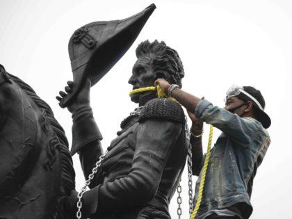 Andrew Jackson statue (Tasos Katopodis / Getty)