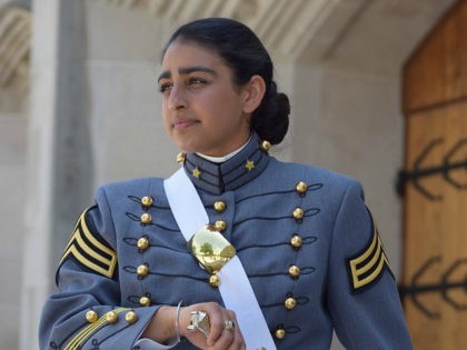 A young woman made history Saturday as the first observant Sikh to graduate from the United States Military Academy West Point in New York.