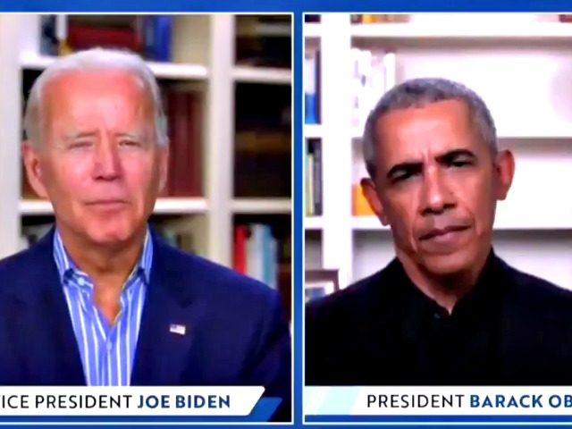 Biden Virtual Fundraiser with Obama