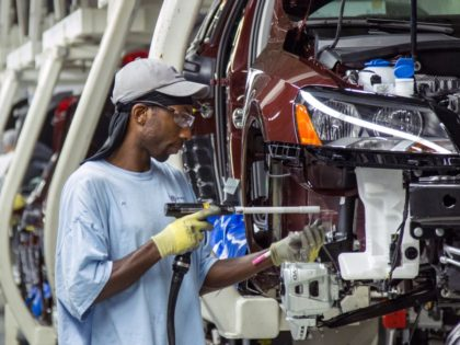 Black auto worker (Erik Schelzig / Associated Press)