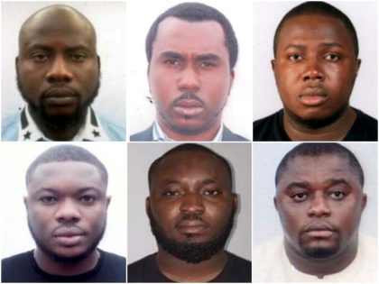 Six Nigerian men are wanted by federal prosecutors for allegedly …