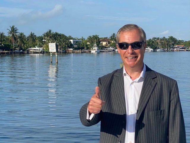 Nigel Farage Florida