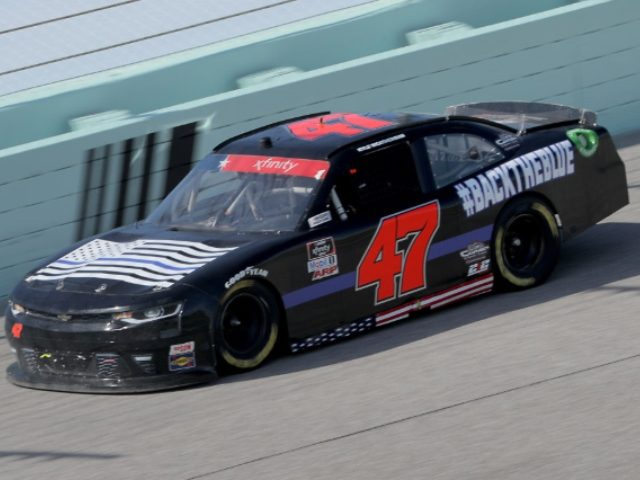 NASCAR's Kyle Weatherman races in Thin Blue Line auto