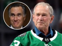 Report: George W. Bush, Mitt Romney Won't Support Trump's Re-Election