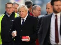 LONDON, ENGLAND - NOVEMBER 30: British Prime Minister Boris Johnson visits the scene of yesterday's London Bridge stabbing attack on November 30, 2019 in London, England. A man and a woman were killed and three seriously injured in a stabbing attack at London Bridge during which the suspect was shot …