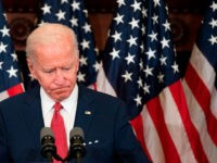 "Former vice president and Democratic presidential candidate Joe Biden speaks about the unrest across the country from Philadelphia City Hall on June 2, 2020, in Philadelphia, Pennsylvania, contrasting his leadership style with that of US President Donald Trump, and calling George Floyd's death ""a wake-up call for our nation."" (Photo …"