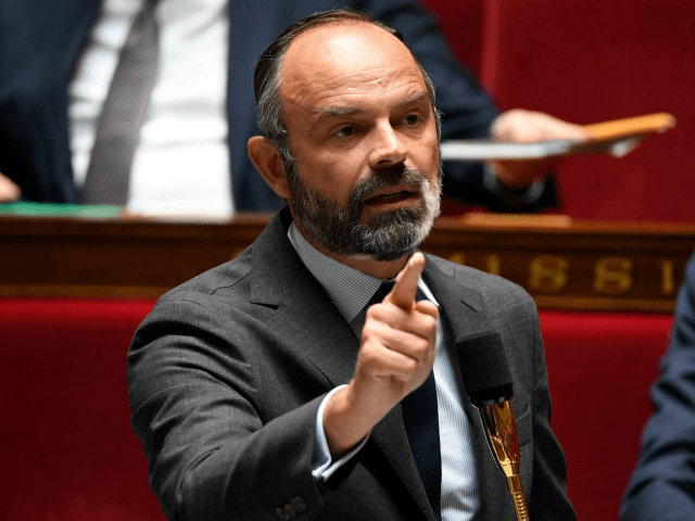 French Prime Minister Edouard Philippe speaks during a session of questions to the Government at the French National Assembly in Paris on June 9, 2020. (Photo by Bertrand GUAY / AFP) (Photo by BERTRAND GUAY/AFP via Getty Images)