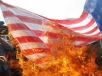 Greek Leftists Set Fire to American Flag, Protest Outside Consulate in Solidarity With 'U.S. Insurgents'