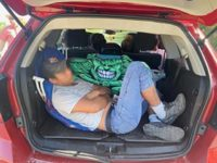 Border Patrol agents find a load of illegal aliens packed into the rear of an SUV in South Texas. (Photo: U.S. Border Patrol/Del Rio Sector)