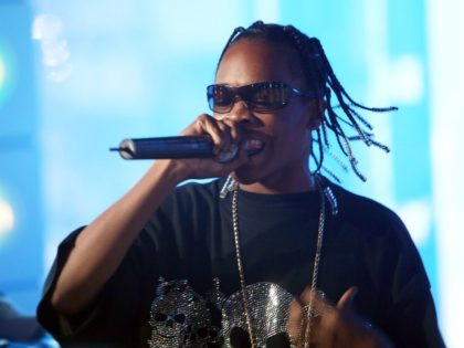 NEW YORK - JULY 30: (U.S. TABS OUT) Rapper Hurricane Chris performs onstage during MTV's Total Request Live at the MTV Times Square Studios on July 30, 2007 in New York City. (Photo by Scott Gries/Getty Images)