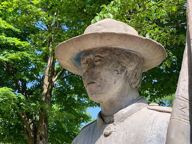 Freedom to Slaves statue, Michigan