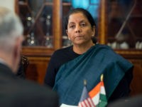 India Finance Minister Nirmala Sitharaman