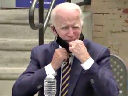 Joe Biden and His Mask
