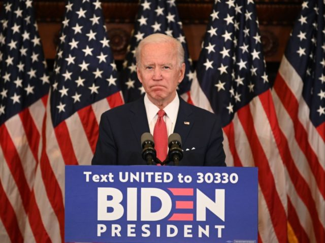 Joe Biden race speech (Jim Watson / Getty)