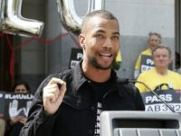 HBO's 'Insecure' Star Kendrick Sampson Leads 'F**k Garcetti' Chants Outside L.A. Mayor's Home