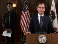 L.A. Mayor Eric Garcetti Calls George Floyd Death a 'Lynching'