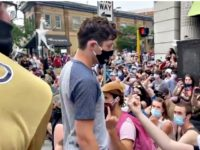Watch: Minneapolis Mayor Jacob Frey Told to Leave Protest for Refusing