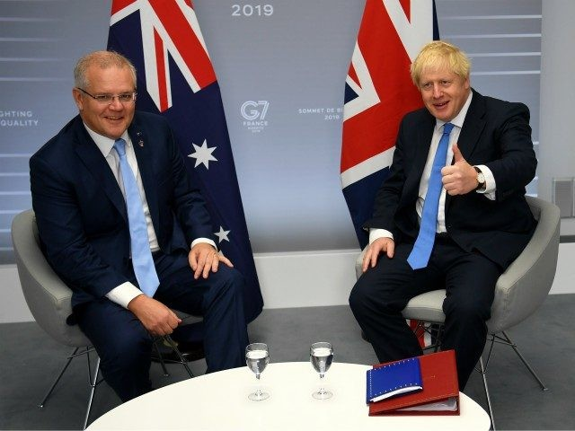 New Zealand and Britain launch free trade talks