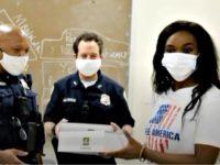 Nestride Yumga Delivers Food to DC Police