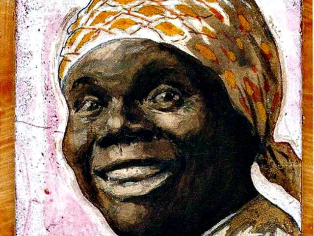 Portrait of Nancy Green as Aunt Jemima