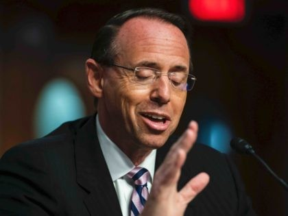 Rod Rosenstein (Jim Lo Scalzo / Pool / AFP / Getty)