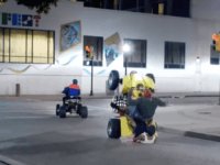 Watch – Epic Wheelie Fail: Anti-Trump Agitators Humiliated After Falling Off ATV