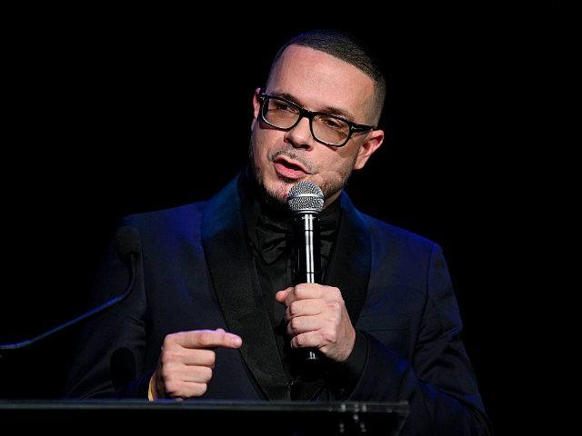 NEW YORK, NEW YORK - SEPTEMBER 12: Shaun King accepts an award onstage during Rihanna's 5th Annual Diamond Ball Benefitting The Clara Lionel Foundation at Cipriani Wall Street on September 12, 2019 in New York City. (Photo by Dave Kotinsky/Getty Images for Diamond Ball)