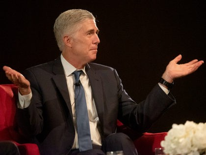 Sept. 19, 2019, U.S. Supreme Court Justice Neil Gorsuch spoke at the LBJ Presidential Library