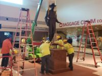 Dallas Officials Remove Texas Ranger Statue from Airport