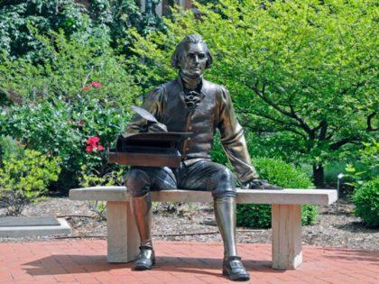 Thomas Jefferson Statue at Mizzou