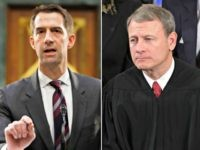 Tom Cotton and John Roberts