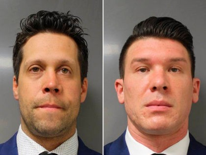 This June 6, 2020 photo provided by the Erie County District Attorney's Office in Buffalo, N.Y., shows suspended Buffalo police officer Robert McCabe. Prosecutors say McCabe was charged with assault Saturday, June 6, 2020, after a video showed him and another officer shoving a 75-year-old protester on Thursday, June 4, …