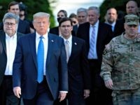 Reports: President Trump Not Happy with Defense Secretary Mark Esper Distancing Himself over Civil Unrest