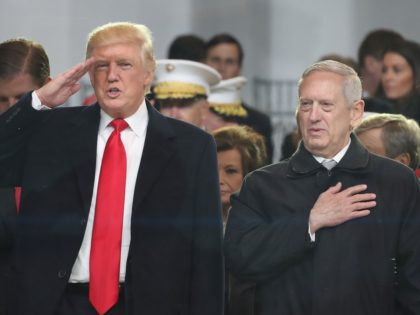 Trump and Mattis (Mark Wilson / Getty)