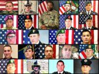 US Service Members Killed in Afghanistan