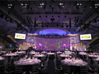 "WASHINGTON, DC - APRIL 26: A view of the interior of the venue during ""Full Frontal With Samantha Bee"" Not The White House Correspondents Dinner on April 26, 2019 in Washington, DC. 558325 (Photo by Tasos Katopodis/Getty Images for TBS)"