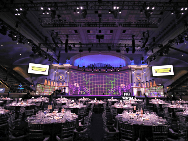 """WASHINGTON, DC - APRIL 26: A view of the interior of the venue during """"Full Frontal With Samantha Bee"""" Not The White House Correspondents Dinner on April 26, 2019 in Washington, DC. 558325 (Photo by Tasos Katopodis/Getty Images for TBS)"""