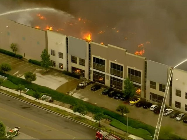 Three-Alarm Fire Destroys California Amazon Warehouse