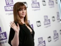 "NEW YORK, NY - MAY 14: Actor Amber Tamblyn attends the ""Full Frontal with Samantha Bee"" FYC Event NY on May 14, 2018 in New York City. (Photo by Monica Schipper/Getty Images for Turner)"