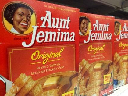 Quaker Oats Aunt Jemima pancake mix