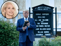 Ellen Barkin: 'If Jesus Was Our Savior Trump Would Have Gone Down in Flames'