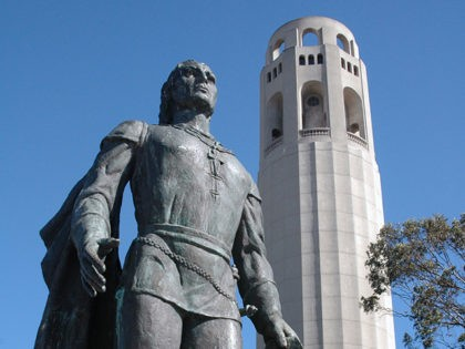 Coit Tower feat. Christopher Columbus