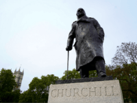 Churchill Statue Vandalised on D-Day Anniversary as BLM Crowd Into London