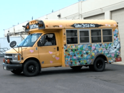 A community in Aurora, Colorado, came together to repair a stripped delivery bus so a nonprofit could help families who needed baby supplies.