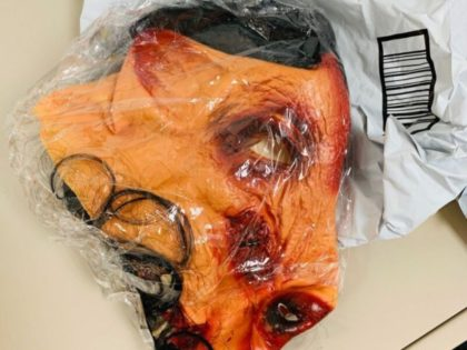 eBay bloody pig mask